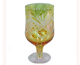 Glass Wedding Goblet