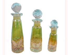 Colored Perfume Bottle