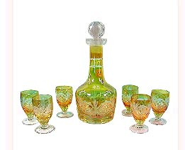 Glass Barware Set