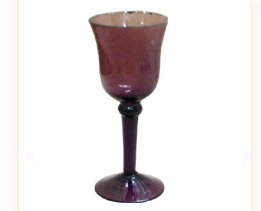 Glass Drinking Goblet