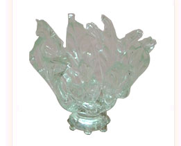 Decorative Glass Votive